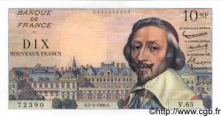 10 Nouveaux Francs RICHELIEU FRANCE  1960 F.57.06 NEUF