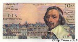 10 Nouveaux Francs RICHELIEU FRANCE  1960 F.57.11 SPL