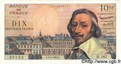 10 Nouveaux Francs RICHELIEU FRANCE  1961 F.57.14 pr.NEUF