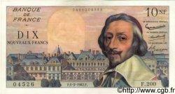 10 Nouveaux Francs RICHELIEU FRANCE  1962 F.57.17 SPL+