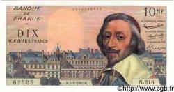 10 Nouveaux Francs RICHELIEU FRANCE  1962 F.57.18 SPL+