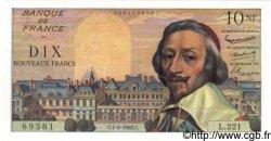 10 Nouveaux Francs RICHELIEU FRANCE  1962 F.57.19 NEUF