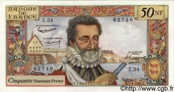 50 Nouveaux Francs HENRI IV FRANCE  1960 F.58.05 NEUF