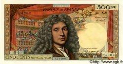 500 Nouveaux Francs MOLIÈRE FRANCE  1960 F.60.02 pr.SPL