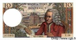10 Francs VOLTAIRE FRANCE  1963 F.62.03 pr.NEUF