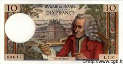 10 Francs VOLTAIRE FRANCE  1964 F.62.11 NEUF