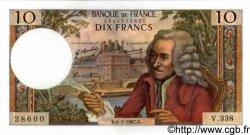 10 Francs VOLTAIRE FRANCE  1967 F.62.27 pr.NEUF