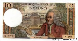 10 Francs VOLTAIRE FRANCE  1969 F.62.36 pr.NEUF