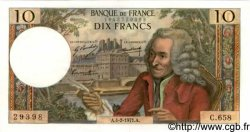 10 Francs VOLTAIRE FRANCE  1971 F.62.49 SPL