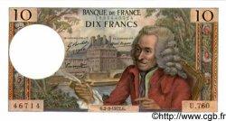 10 Francs VOLTAIRE FRANCE  1972 F.62.55 SPL+