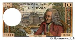 10 Francs VOLTAIRE FRANCE  1973 F.62.60 NEUF