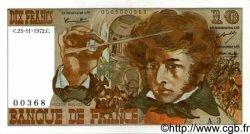 10 Francs BERLIOZ FRANCE  1972 F.63.01 SUP à SPL
