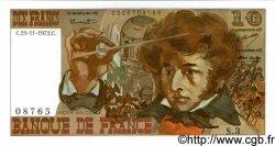 10 Francs BERLIOZ FRANCE  1972 F.63.01 pr.NEUF