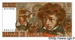 10 Francs BERLIOZ FRANCE  1974 F.63.07a pr.NEUF