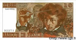 10 Francs BERLIOZ FRANCE  1975 F.63.08 SUP+