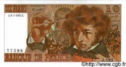 10 Francs BERLIOZ FRANCE  1975 F.63.11 NEUF