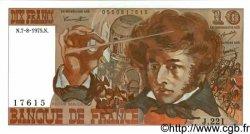 10 Francs BERLIOZ FRANCE  1975 F.63.12 SPL