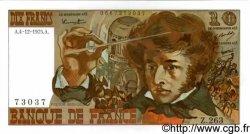 10 Francs BERLIOZ FRANCE  1975 F.63.15 pr.NEUF