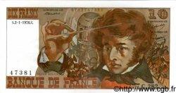 10 Francs BERLIOZ FRANCE  1976 F.63.16a SUP+