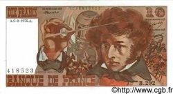 10 Francs BERLIOZ FRANCE  1976 F.63.20 SUP+