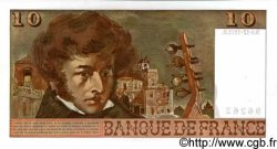 10 Francs BERLIOZ sans signatures FRANCE  1973 F.63bis.01 SPL