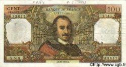 100 Francs CORNEILLE FRANCE  1970 F.65.33 TTB