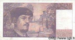 20 Francs DEBUSSY FRANCE  1984 F.66.05 TTB