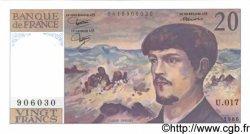 20 Francs DEBUSSY FRANCE  1986 F.66.07 NEUF