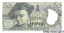50 Francs QUENTIN DE LA TOUR FRANCE  1989 F.67.15 NEUF