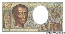 200 Francs MONTESQUIEU FRANCE  1981 F.70.01 pr.SPL
