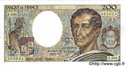 200 Francs MONTESQUIEU FRANCE  1985 F.70.05 pr.NEUF