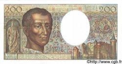 200 Francs MONTESQUIEU FRANCE  1989 F.70.09 SUP+ à SPL
