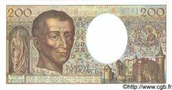 200 Francs MONTESQUIEU FRANCE  1991 F.70.10b NEUF