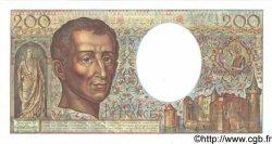 200 Francs MONTESQUIEU FRANCE  1991 F.70.11 NEUF