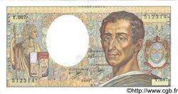 200 Francs MONTESQUIEU FRANCE  1991 F.70.11 pr.NEUF