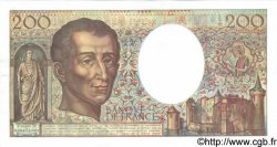200 Francs MONTESQUIEU alphabet 101 FRANCE  1992 F.70bis.01 SPL