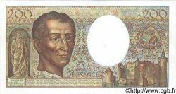 200 Francs MONTESQUIEU alphabet H.402 FRANCE  1986 F.70ter.01 TTB+ à SUP