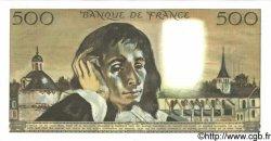500 Francs PASCAL FRANCE  1968 F.71.01 SPL