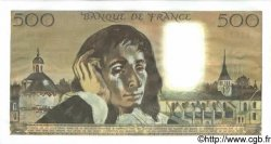 500 Francs PASCAL FRANCE  1974 F.71.12 pr.SPL
