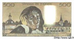 500 Francs PASCAL FRANCE  1987 F.71.36 pr.NEUF