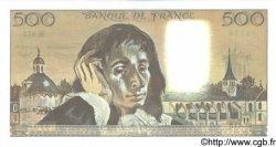 500 Francs PASCAL FRANCE  1993 F.71.52a NEUF