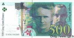 500 Francs PIERRE ET MARIE CURIE sans STRAP FRANCE  1994 F.76qua.03 pr.NEUF