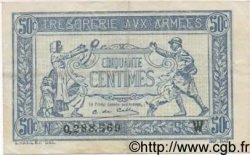 50 Centimes TRÉSORERIE AUX ARMÉES FRANCE  1919 VF.02.06 TTB+