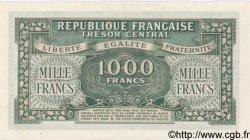 1000 Francs MARIANNE chiffres gras FRANCE  1945 VF.12.01 NEUF