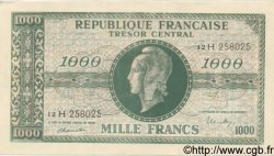 1000 Francs MARIANNE chiffres maigres FRANCE  1945 VF.13.03 pr.NEUF