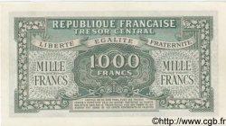 1000 Francs MARIANNE chiffres maigres FRANCE  1945 VF.13.01 SPL