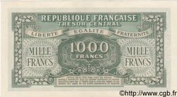 1000 Francs MARIANNE chiffres maigres FRANCE  1945 VF.13.01