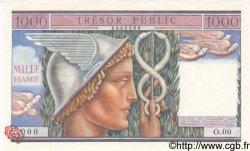 1000 Francs TRÉSOR PUBLIC FRANCE  1955 VF.35.01 NEUF