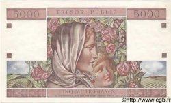 5000 Francs TRÉSOR PUBLIC FRANCE  1955 VF.36.01 pr.SPL