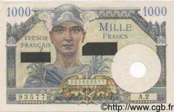 1000 Francs SUEZ FRANCE  1956 VF.43.01 pr.NEUF
